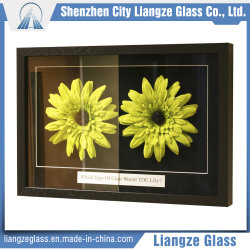 3mm-15mm verre recouvert de flottement anti-reflet avec 98 % le taux de transmission
