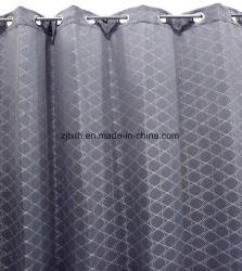 2020の市場の普及した灰色の幾何学的な図ポリエステル熱い販売の寝室の窓カーテンの布