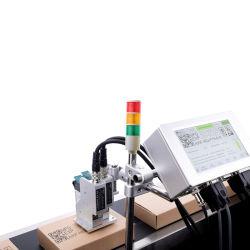 Codice ad alta velocità Qr in lotti di fede e stampante di getto di inchiostro industriale della data di scadenza di codice a barre