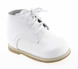 Infant Toddler Baby Girls Prewalker Blanc Chaussures en cuir de marche