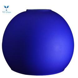 Hand durchgebrannte saure blaue Farben-runde Glaskugel
