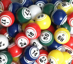 Plástico de alta calidad OEM Lotería Casino Bingo Ball