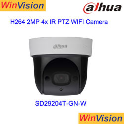 SD Dahau29204T-Gn-W 2MP 4X Câmara PTZ de rede WiFi sem fio