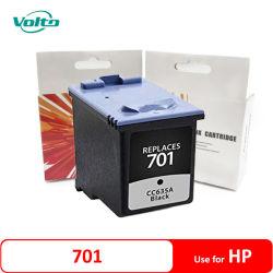 HPのファクシミリ2100 HP 2140のための互換性のあるHP 701 Cc635Aの黒いインクカートリッジはHPをファックスするファクシミリ600 HP 640がHP 650のファクシミリをファックスする