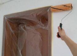 Gain de temps pour l'intérieur de la peinture de film de marouflage