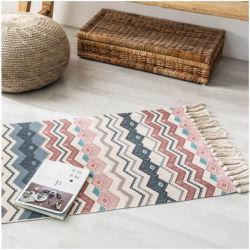 Lado a roupa de tecidos de algodão tapete tapetes Tapete de oração muçulmanas