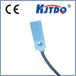 Tipo cuadrado 8*8mm Sensor inductivo de proximidad con la caja de PTFE