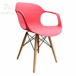Eames Gevormde Plastic ZijStoel Herman Miller