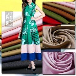 5%Spandex 36%59%Tencel) Tecido de poliéster para vestir calças blusas