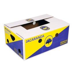 주문 로고 골판지 배 주황색 Apple 레몬 망고 바나나 과일 야채 패킹 포장 판지 상자를 인쇄하는 높은 정의 5 색깔 Flexo