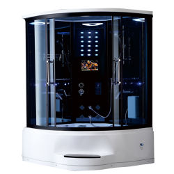 현대적인 패션 디자인 디지털 컨트롤 강화 유리 욕실 마사지 욕실 스팀 샤워 캐빈 가격