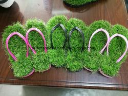 Новый стиль леди летом EVA Flip флоп травы Yx0627-1 опорной части юбки поршня