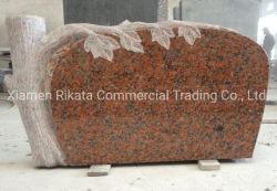 Разработаны Multi-Style гранитных памятников/Tombstone/Headstone/серьезную камень с резьба по дереву отшлифованные слева