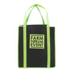 عادة علامة تجاريّة [نون-ووفن] حمل تسوق حقيبة يد قابل للاستعمال تكرارا [إك-فريندلي] يعبّئ حقيبة