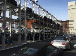 Un parking à 4 postes de mécanique de la pile du système de stockage de stationnement