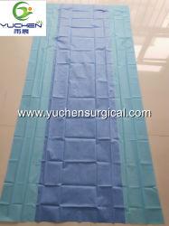 Eoの生殖不能の使い捨て可能な外科背部テーブル掛け/外科はプロシージャパックのためのシートをおおう