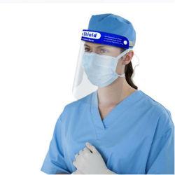 Sicherheitsmaske aus transparentem Gesicht, Anti-Fog-Maske mit Kunststoff-Gesichtsschild