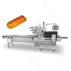 Automatique bloc par bloc de pain frit nouille instantanée/// biscuit petit sac pochette horizontale d'emballage alimentaire Emballage Machines d'enrubannage de la machine