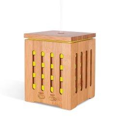 200ml Vidro Bambu Óleo Essencial Nebulizador Fragrância humidificador ultrassónico difusor de Aromaterapia