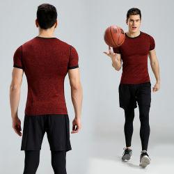 OEM Geschiktheid die van Mens van de Compressie van de Fabriek de Naar maat gemaakte snel Sportkleding drogen