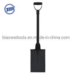 Graafspade voor zwaar gebruik en middelzwaar gebruik met geklonken handgreep