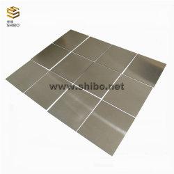 Kundenspezifisches Gr1, G2 reine Titanplatte, Gr5 Taitanium Legierungs-Blatt