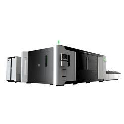 Aluminum 2kw 3kw 4kw 6kwのための4020 Doubel Platform FiberレーザーCutting Machine