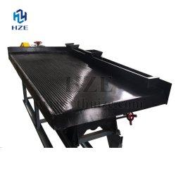 تعدين معدنيّة جاذبيّة تركيز تجهيز رجّاجة آلة يهزّ طاولة
