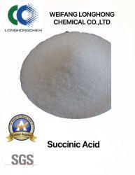 El ácido succínico para uso industrial/ puede ser utilizado para producir vitamina A y vitamina B en la industria farmacéutica/biológico grado/ Tecnología avanzada