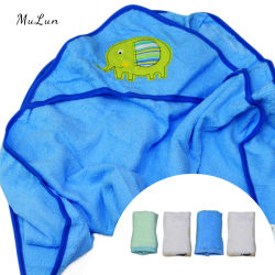 Insieme appena nato respirabile 100% del tovagliolo del bambino del tovagliolo di bagno del cotone del commercio all'ingrosso