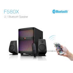 2.1チャネルのSubwooferのUSB FM BluetoothカラーLED表示が付いているホーム音声TVのスピーカー