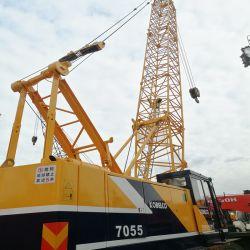 Используется строительная техника 55 тонн 7055 Kobelco гусеничный подъемный кран