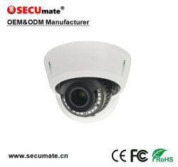 3MP H. 265 vrai WDR Starlight IK10 Dôme Caméra IP CCTV