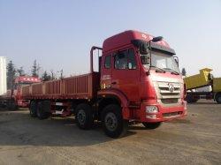 中国HOWO 8X4の塀の貨物自動車のトラック、側面が付いているバルク貨物トラック