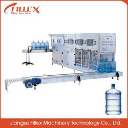 Système efficace de 100 bph 5 Gallon Barrelled Machine de remplissage de l'eau l'eau embouteillée Machine de remplissage
