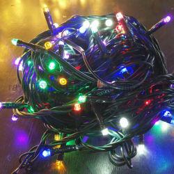 Decoración de Navidad luces LED de hadas vacaciones decoración con ornamento