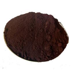 El óxido de hierro de las materias primas para la pintura de color marrón óxido de hierro