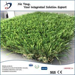 25mm-40mm vier kleuren natuurlijk ogend synthetisch turf fake Landscaping kunstzinnige Gras