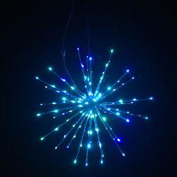 Luz de LED de Fogo de Artifício grossista Starburst Contos de Natal decorações Estrela da Luz nocturna de cadeia de LED de exterior Natal LED de Fogo de Artifício grossista Lightstarburst L
