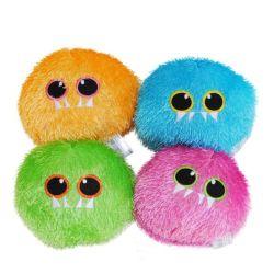 Cheap Cartoon juguetes Llavero bola antiestrés espíritu Fake Fur Ball decoración regalo regalos