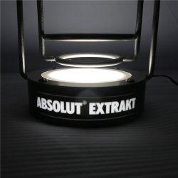 Venda de fábrica personalizado publicidade iluminado Sinal Visor acrílico LED