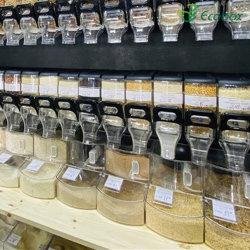 Tienda de caramelos Caramelos de acrílico de alimentos a granel Bin Bin Contenedor de caramelo