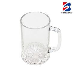 Fabrico profissional Espresso Água Custom vidro reutilizáveis canecas de vidro de cerveja