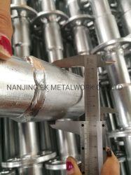 Sale를 위한 Building Construction Project를 위한 중국 Galvanized HDG Steel Ringlock Scaffolding System Standard Base Collar