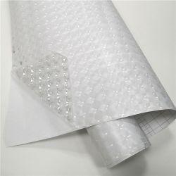 PVC 자유로운 자동 접착 방어적인 스티커 롤 광택 있는 명확한 박판으로 만드는 필름 묘안석은 제조한다