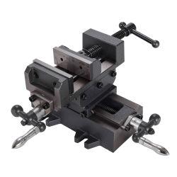 ロータリテーブル CNC マシンアクセサリクランプツールバイスクロスを表示します フライス加工工作機械の副