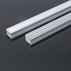 Perfil de alumínio de LED com difusor para o LED Fita LED de luz Linear montada embutida
