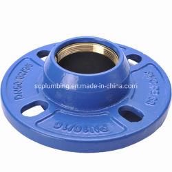 延性鋳鉄 ISO 2531 en 545 クイックフランジアダプタ、 PE パイプ用黄銅リング付きフレキシブルクイックフランジアダプタ