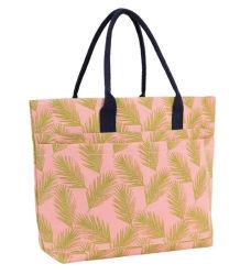 여름 끈달린 가방 화포 물자 열대 디자인 숙녀