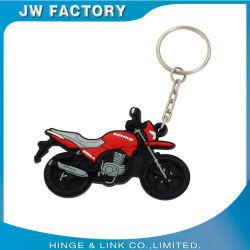 Prezzo di fabbrica a buon mercato nuovo Design Motorcycle PVC Portachiavi